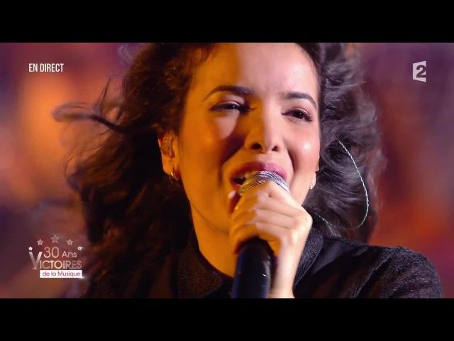 Indila Dernière danse Victoires de la Musique 2015