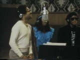 Michael Jackson in studio with Quincy Jones,  sessions