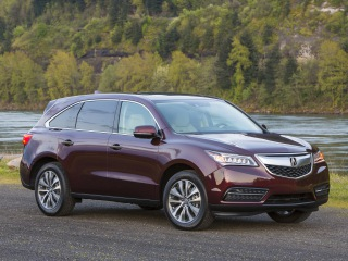 Acura MDX - front - or all-wheel drive SUV class