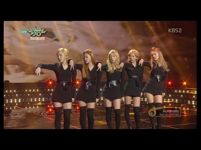 Red Velvet 레드벨벳 Comeback Stage 'Automatic' KBS MUSIC BANK 2015.03.20