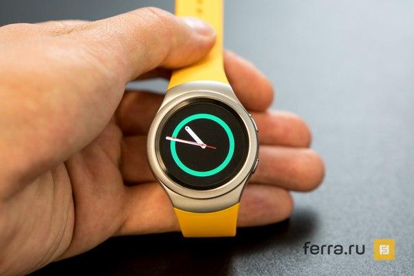 Samsung представила смарт-часы Gear S2 в России