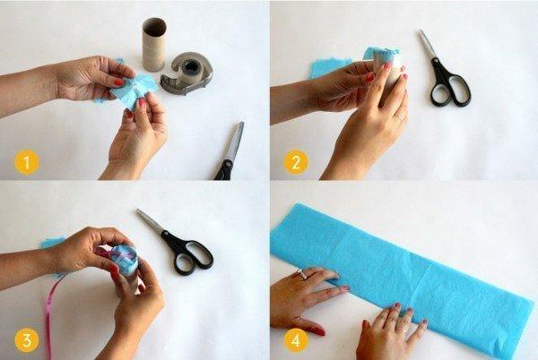 Как сделать хлопушку из бумаги своими руками на день рождения 87