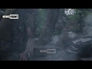 ДНР. БТГ Сомали ведет бой в аэропорту Донецка. 1.07.2015