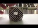 4 Different Hollow Diagonal Structures (Zen Magnets, Buckyballs)