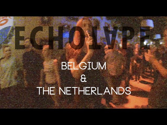 Echotape Tour The Netherlands and Belgium October 2015