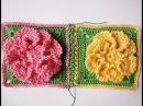 Соединение квадратов Compound squares Crochet