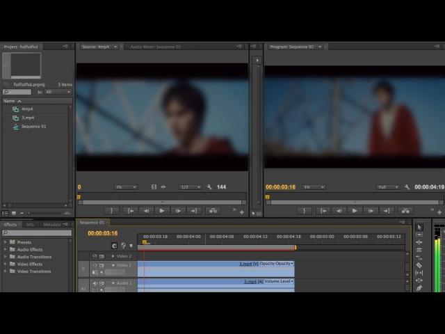 Как монтировать видео в программе Adobe Premiere Pro CS4, CS6 - Как работать Обзор программы