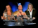 WWE Backlash 2004: Triple H vs Shawn Michaels vs Chris Benoit (FULL MATCH)