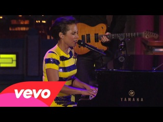 Alicia Keys - If I Ain't Got You (Live on Letterman)