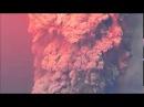 Извержение вулкана и вулканические молнии