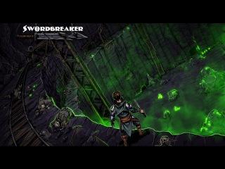 Swordbreaker - рисование и раскрашивание сцены
