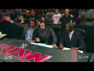WWE Monday Night RAW 06.07.2015 (Часть 4)