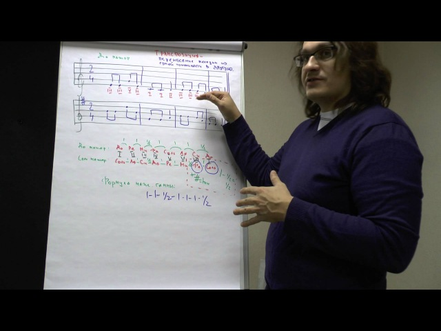 Теория музыки как читать ноты транспозиция