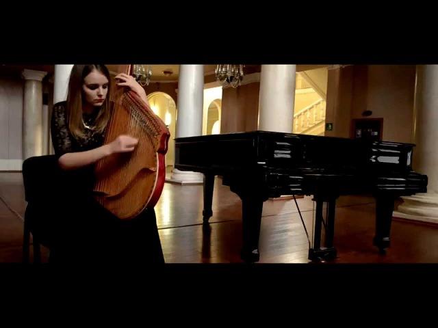 Ukrainian folk instrument bandura. M.Skoryk Lystok do albomy/Бандура М.Скорик Листок до альбому