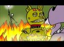 Болезнь Спрингтрапа - 5 Ночей с Фредди Комикс на русском ФНАФ Комикс