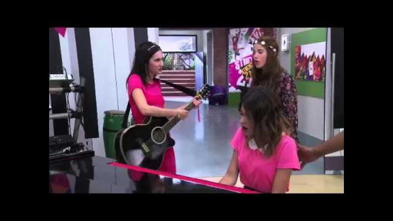 Violetta 2 I ragazzi cantano Ser mejor allo studio (Ep. 1)