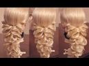 Коса на резинках | Авторские причёски | Лена Роговая | Hairstyles by REM | Copyright ©