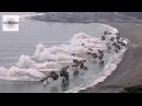 Massive Korea U.S. Marines Amphibious Beach Landing