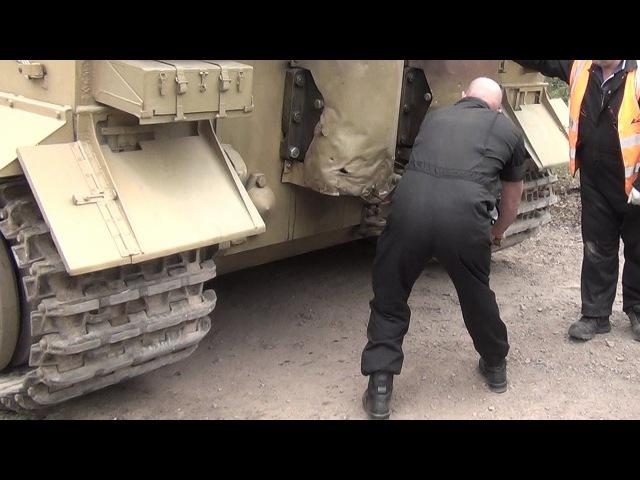 Tiger Hand Crank Engine Start Up