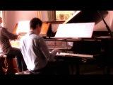 FRANCK - PRELUDE, FUGUE &amp VARIATION Op.18 (Scott Brothers Duo - Piano &amp Harmonium)
