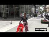 12 сентября Джессика и Хэйвен гуляют по Нью-Йорку