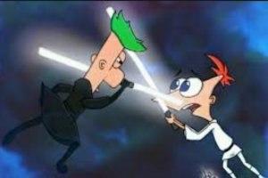 Финес и Ферб. Звёздные войны / Phineas and Ferb Star Wars 2014