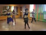Восточные танцы в фитнес-клубе Energy