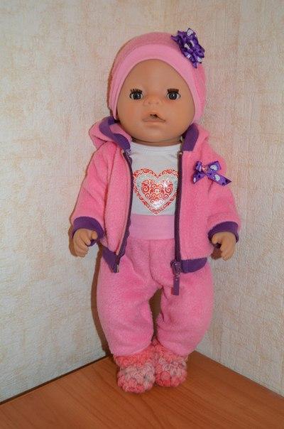 Сшить для кукол беби бон 12