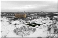 22 февраля  2015 - Набережная 6 квартала Тольятти зимой с воздуха