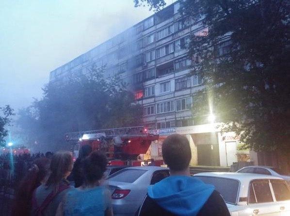 Из горящего пансионата эвакуировали более 50 человек 2