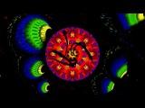 deep focus psychedelic visual