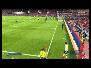 FIFA 15 Ultimate Team Eric Cantona - GAZPROM 0-4 FIFA 15 ����� # 108