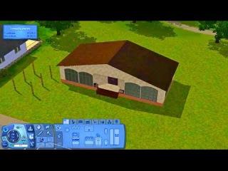 Симс 3 Мир Приключений Продолжаем строить дом для семьи 3-4 человек.