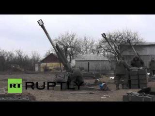 Ukraine: DPR fighters fire at army positions near Debaltsevo