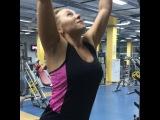 """Виктория Райкина on Instagram: """"Вчера прокачала пресс,отличное упражнение!сегодня мышцы это осознали!всем рекомендую!🏋🏼🎽 #спорт #спортзал #пресс #новое #упражнение…"""""""