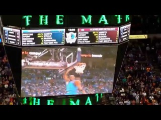 Shawn Marion standing ovation video tribute
