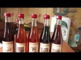 Оформление бутылок с домашним алкоголем.