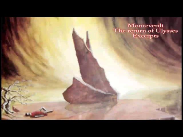 Monteverdi Il ritorno d'Ulisse in patria SV 325 excerpts Rudolf Ewerhart