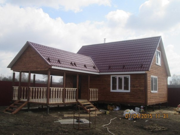 Фото: строительство домов под ключ в новороссийске