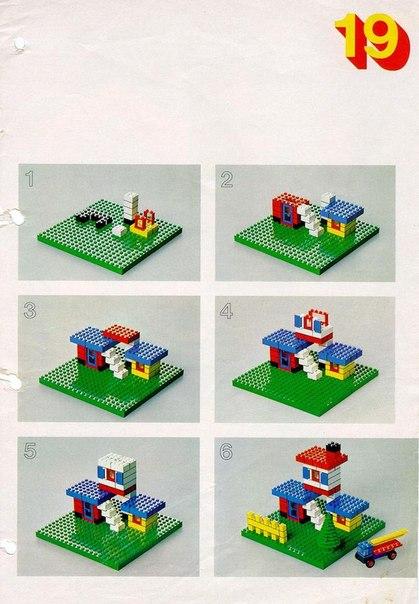 ПРОСТЫЕ LEGO СХЕМЫ