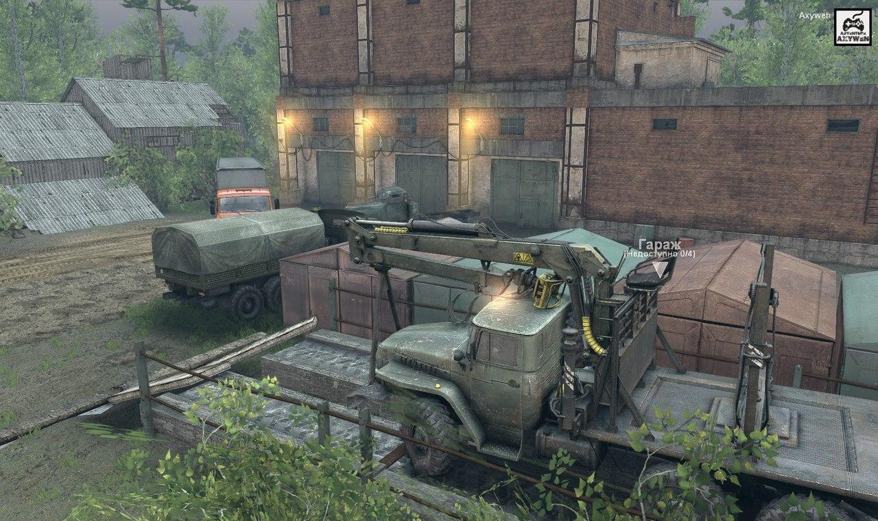 Карта «Сельхоз» для Spintires - Скриншот 3