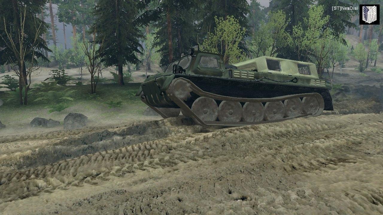 ГАЗ-71 для Spintires - Скриншот 1