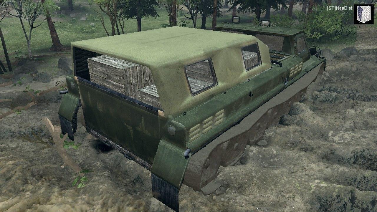 ГАЗ-71 для Spintires - Скриншот 2
