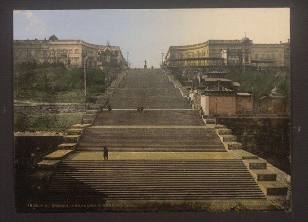 Одесса. Потемкинская лестница.
