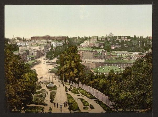 Киев. Вид на Университет