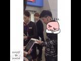 "merry-go-round on Instagram: ""150411 인천공항 우현아 안녕👋👋 #인피니트 #INFINITE #우현 #woohyun @nwh91"""