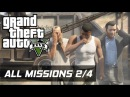 GTA V - All Missions 100% Gold Medal [2/4] (HD 60FPS)