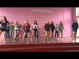 10А танец Cuba,harlem shake,все танцуют локтями