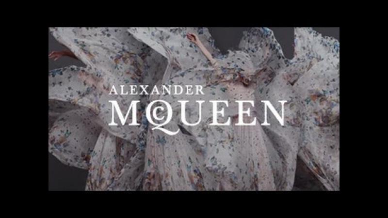 Alexander McQueen Damien Hirst Scarf Collaboration| A Film