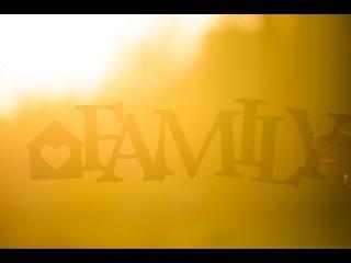 The birth of a family. by Anna Volkodav